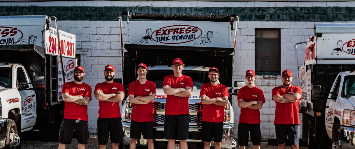 express junk removal team